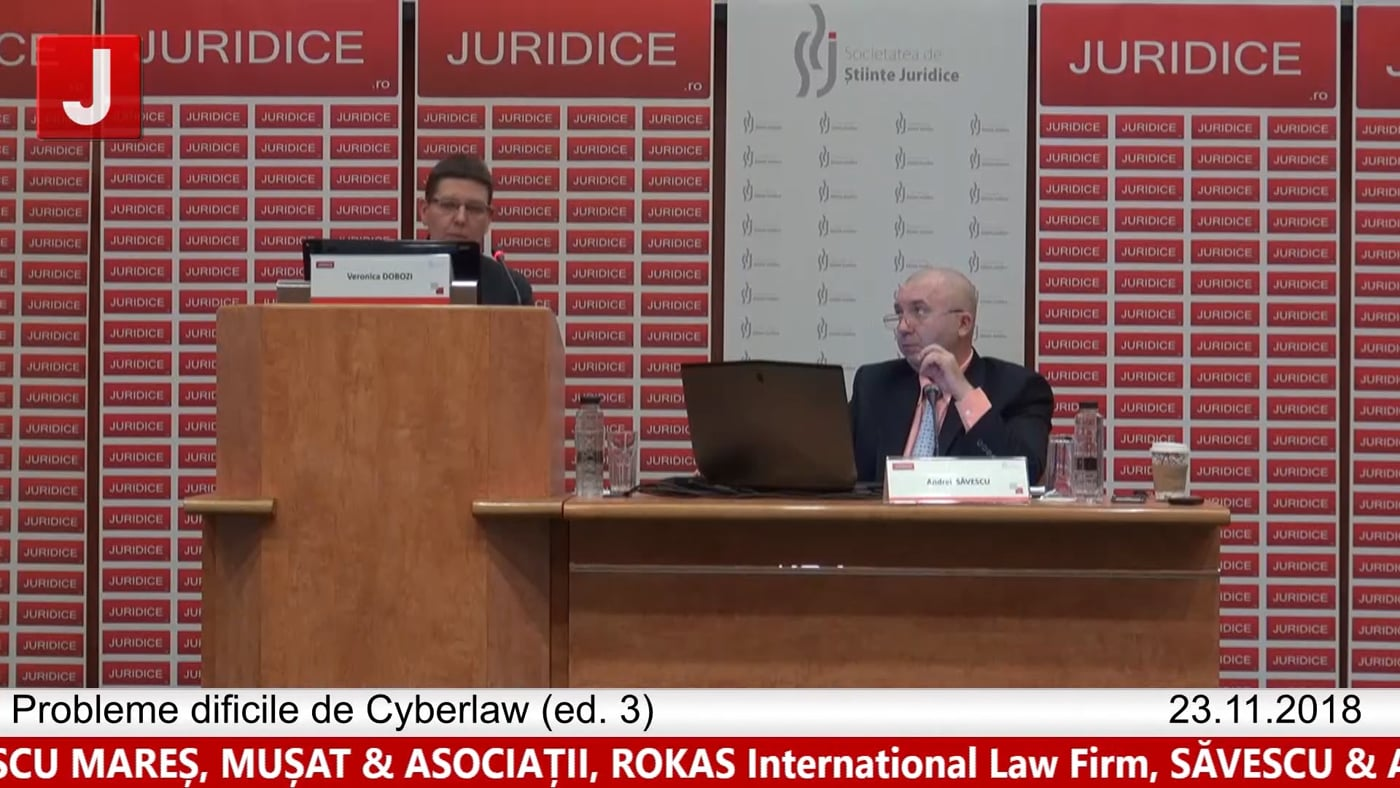 Veronica Dobozi   Probleme dificile de Cyberlaw (ed. 3). Protecția tehnică și protecția juridică a sistemelor informatice