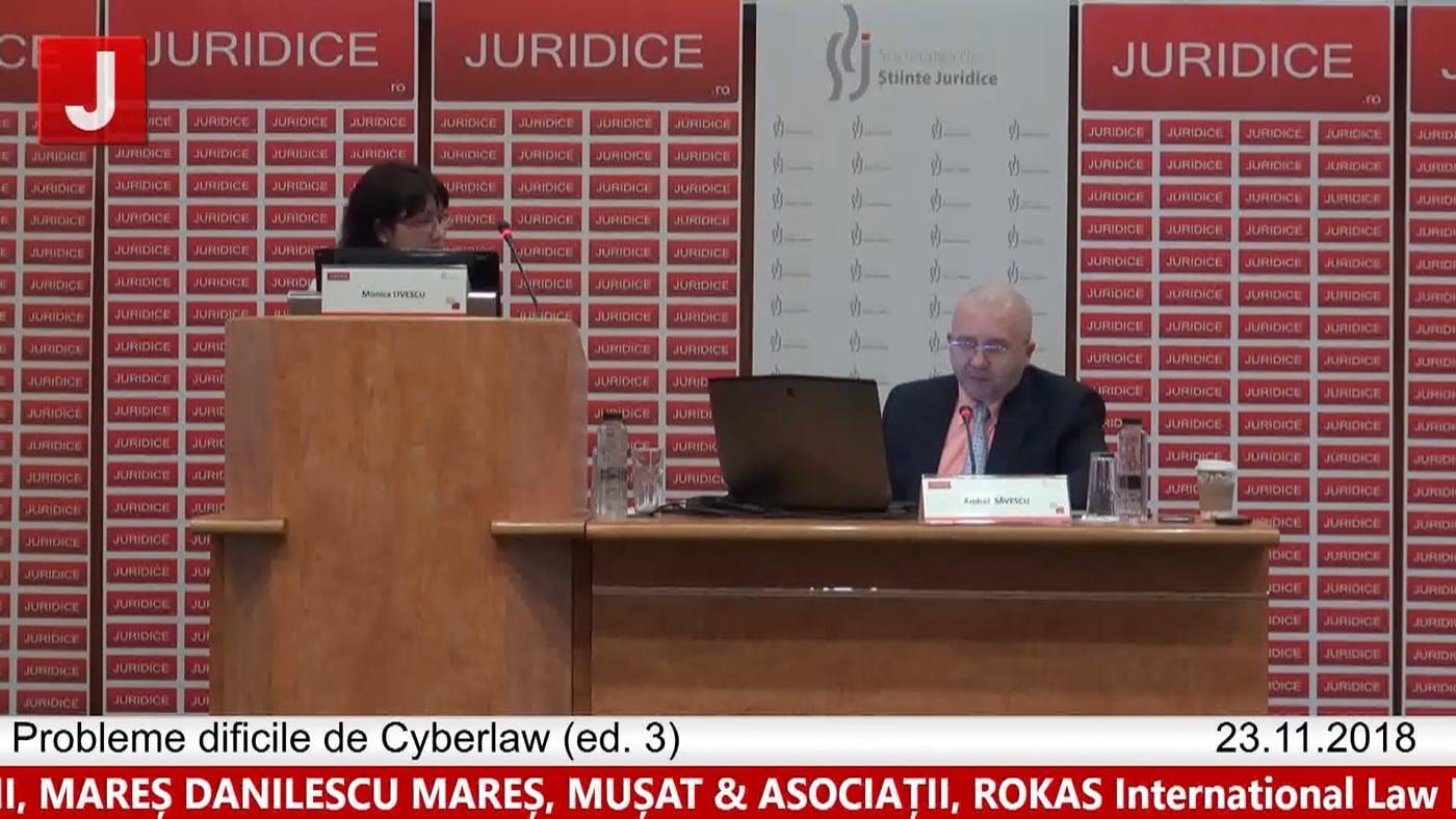 Monica Livescu | Probleme dificile de Cyberlaw (ed. 3). Protecția tehnică și protecția juridică a sistemelor informatice