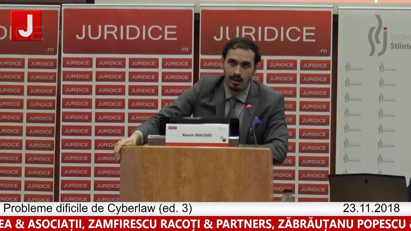 Maxim Macovei | Probleme dificile de Cyberlaw (ed. 3). Protecția tehnică și protecția juridică a sistemelor informatice