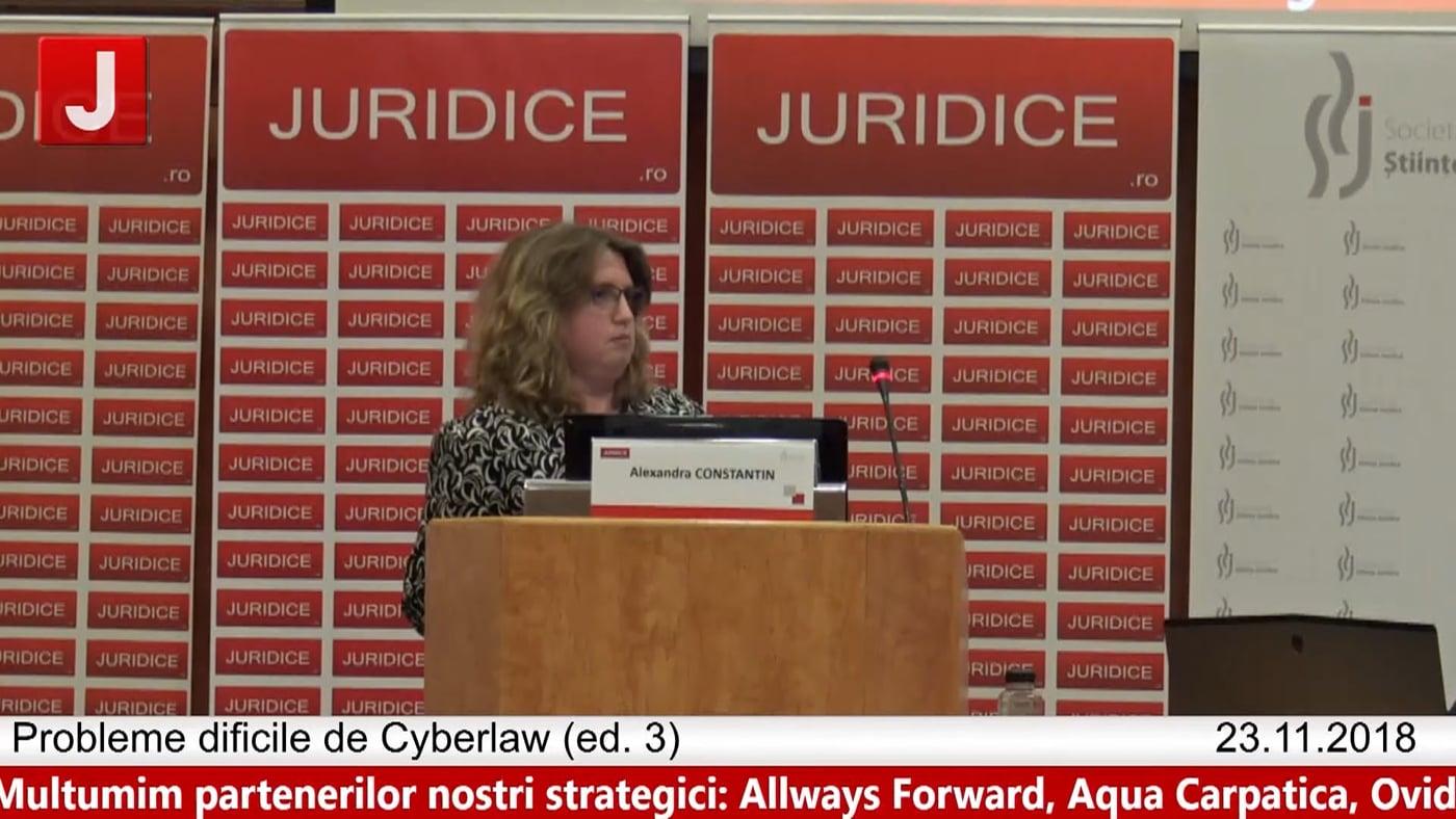 Alexandra Constantin   Probleme dificile de Cyberlaw (ed. 3). Protecția tehnică și protecția juridică a sistemelor informatice