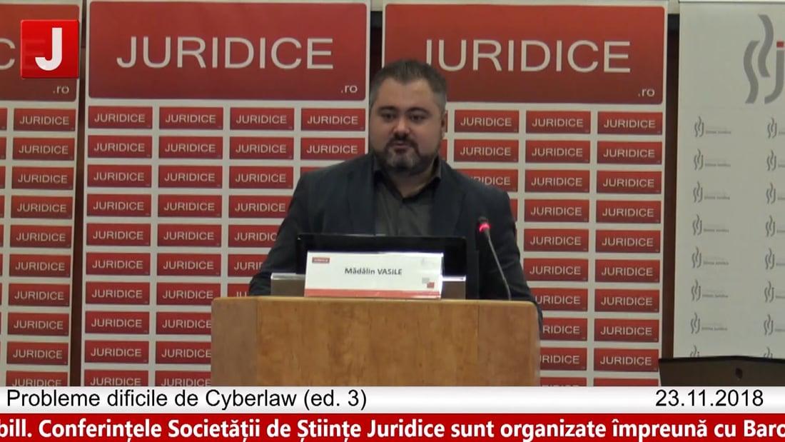 Mădalin Vasile   Probleme dificile de Cyberlaw (ed. 3). Protecția tehnică și protecția juridică a sistemelor informatice