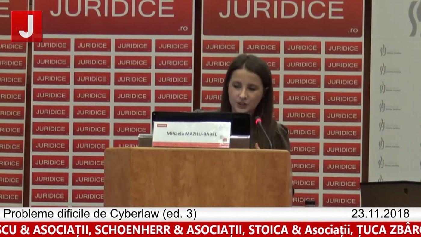 Mihaela Mazilu Babel | Probleme dificile de Cyberlaw (ed. 3). Protecția tehnică și protecția juridică a sistemelor informatice