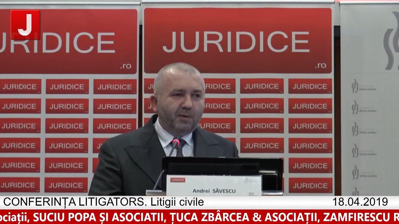 Andrei Săvescu | LITIGATORS | Drept Civil