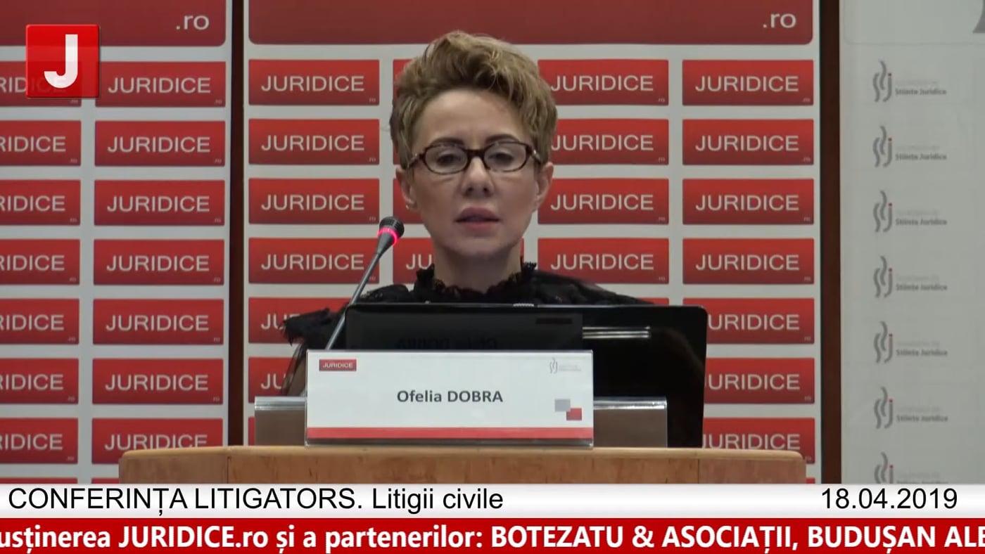 Ofelia Dobra | LITIGATORS | Drept Civil