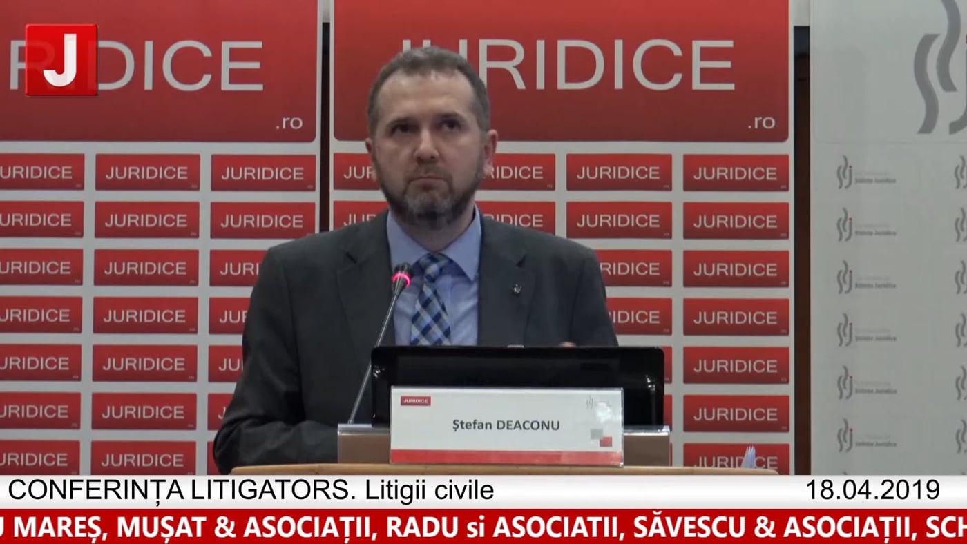 Ștefan Deaconu | LITIGATORS | Drept Civil