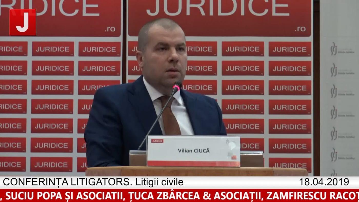 Vilian Ciucă | LITIGATORS | Drept Civil