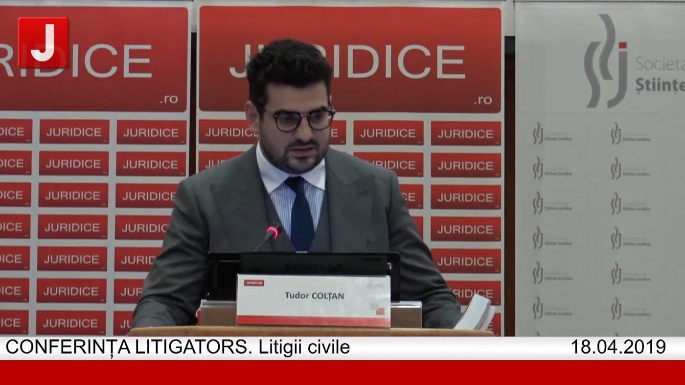 Tudor Colțan   LITIGATORS   Drept Civil