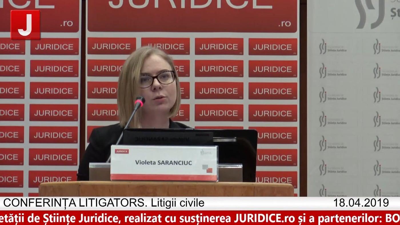 Violeta Saranciuc   LITIGATORS   Drept Civil