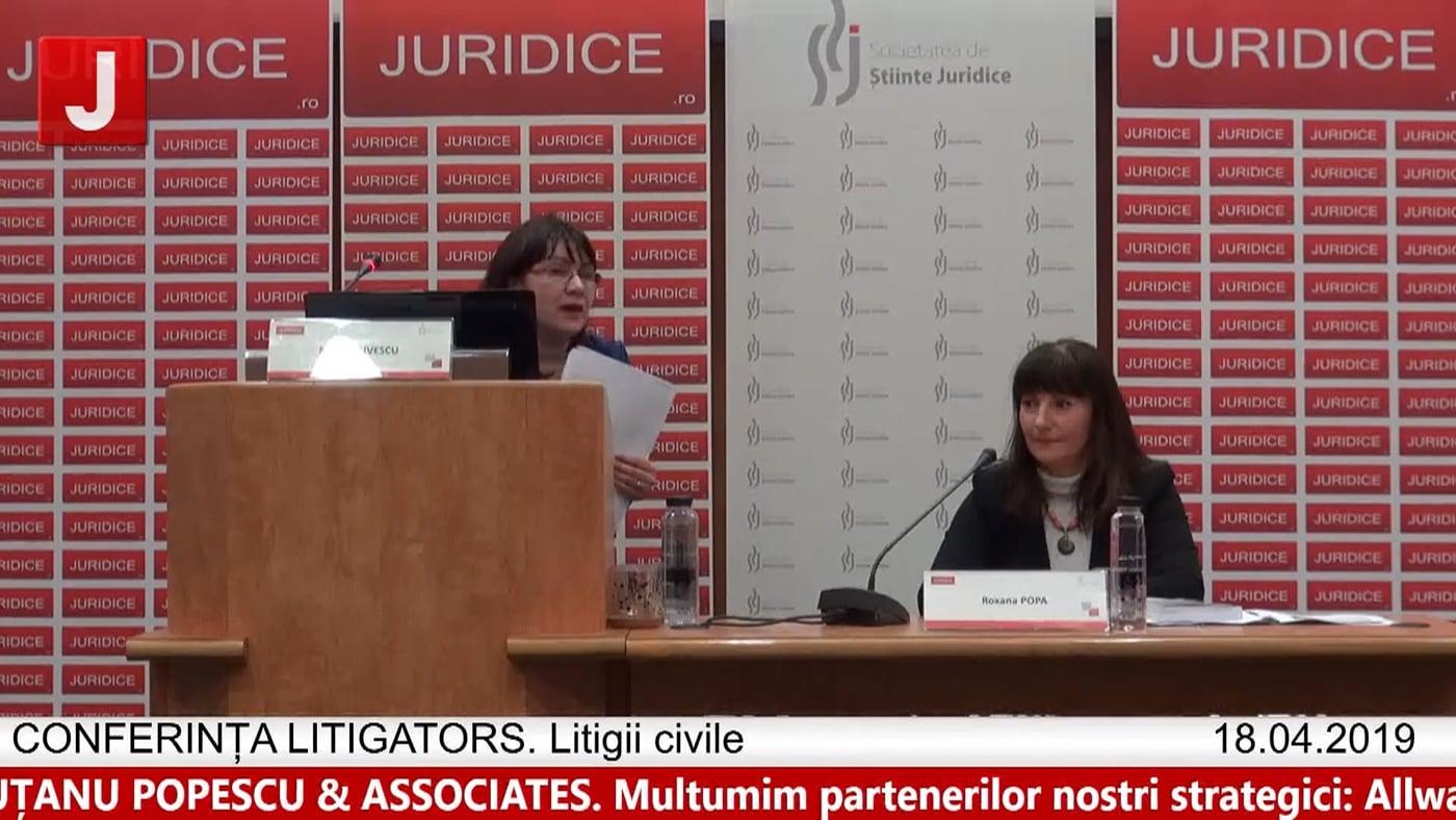 Monica Livescu   LITIGATORS   Drept Civil