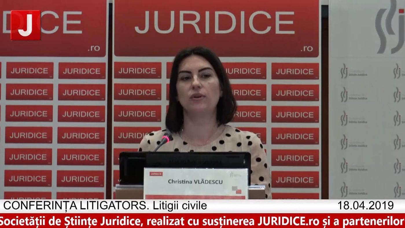 Christina Vlădescu   LITIGATORS   Drept Civil