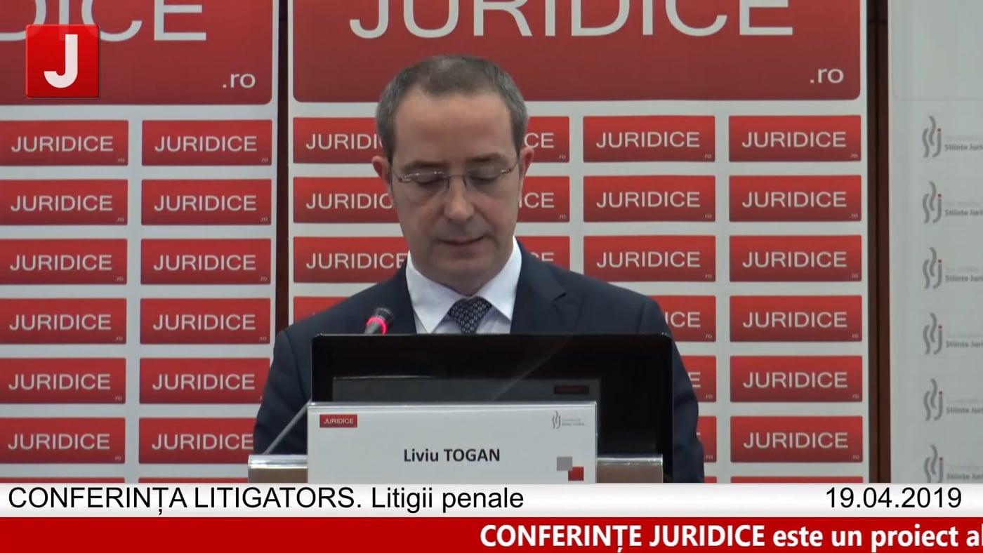 Liviu Togan   LITIGATORS   Drept Penal