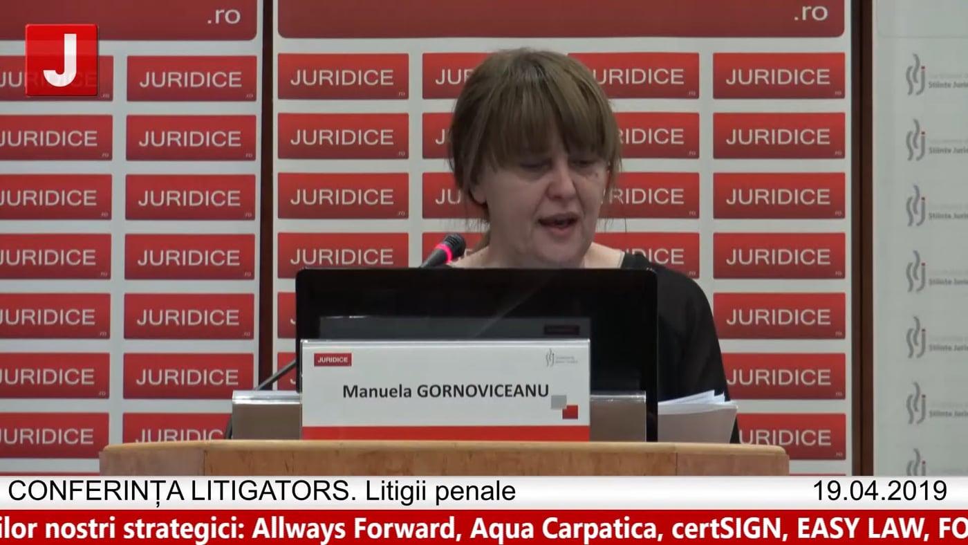 Manuela Gornoviceanu | LITIGATORS | Drept Penal