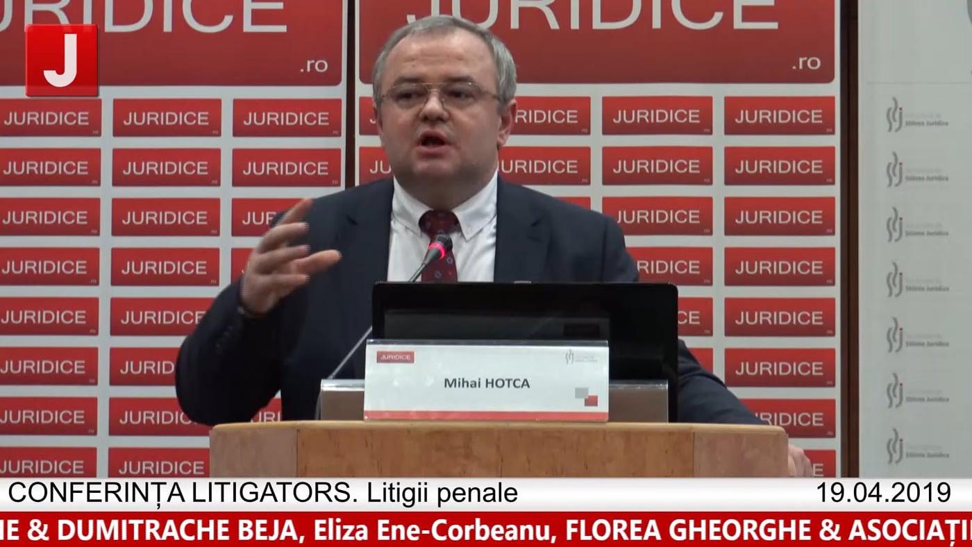 Mihai Hotca   LITIGATORS   Drept Penal