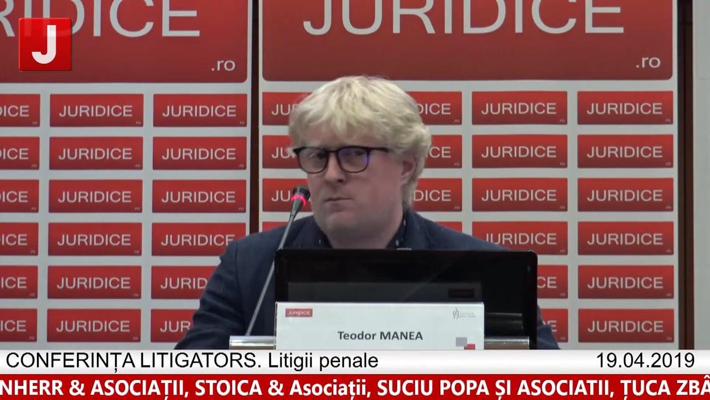Teodor Manea | LITIGATORS | Drept Penal