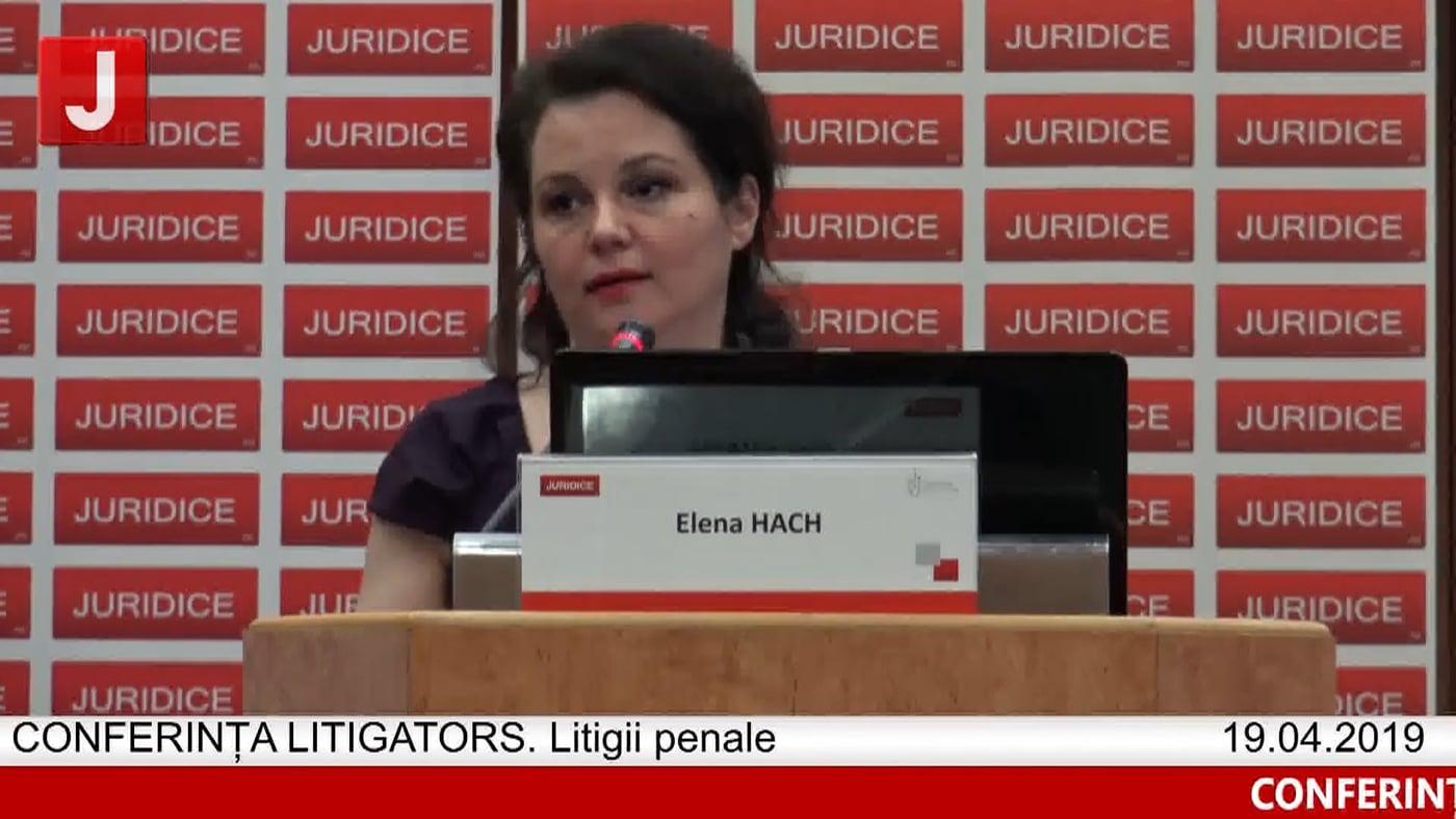 Elena Hach | LITIGATORS | Drept Penal