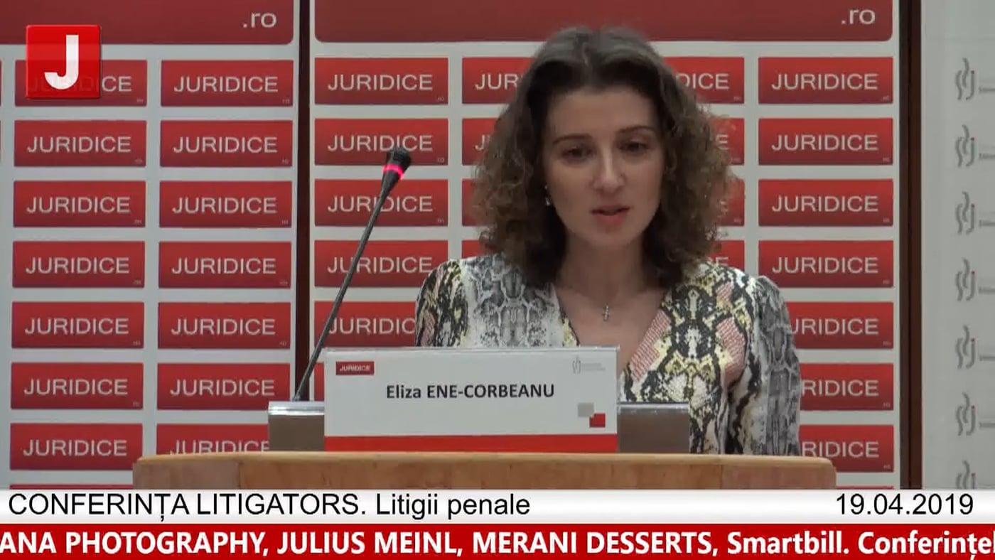 Eliza Ene Corbean | LITIGATORS | Drept Penal