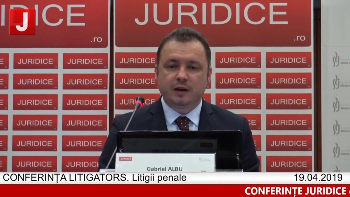 Gabriel Albu | LITIGATORS | Drept Penal