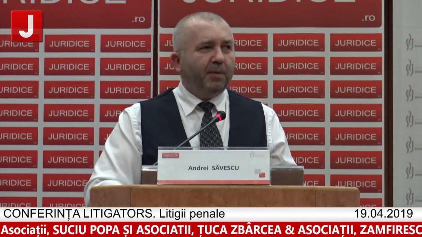 Andrei Săvescu   LITIGATORS   Drept Penal