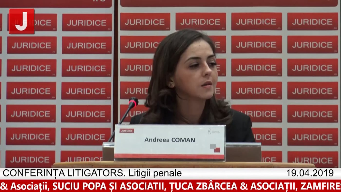 Andreea Coman   LITIGATORS   Drept Penal