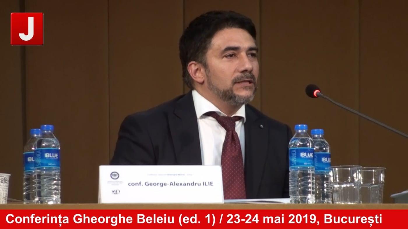 Conferința Gheorghe Beleiu (ed. 1) / 23-24 mai 2019, București | PANEL 3