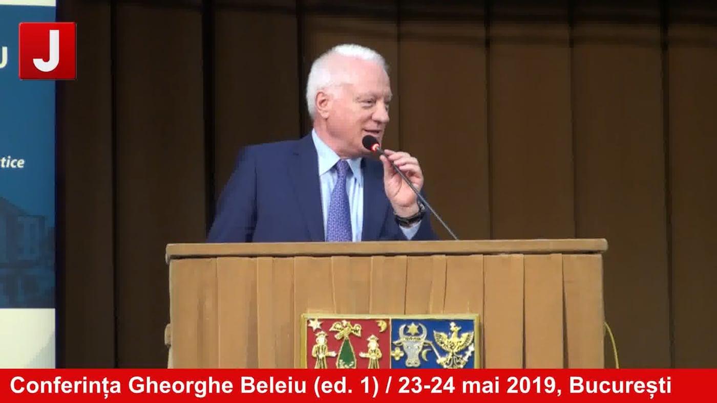 Conferința Gheorghe Beleiu (ed. 1) / 23-24 mai 2019, București   PANEL 4