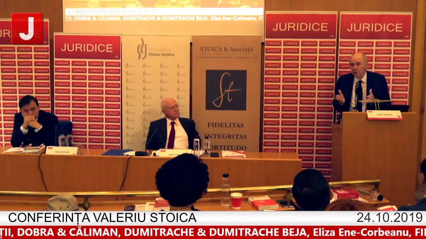 Eugen Chelaru – Conferința Valeriu Stoica 2019