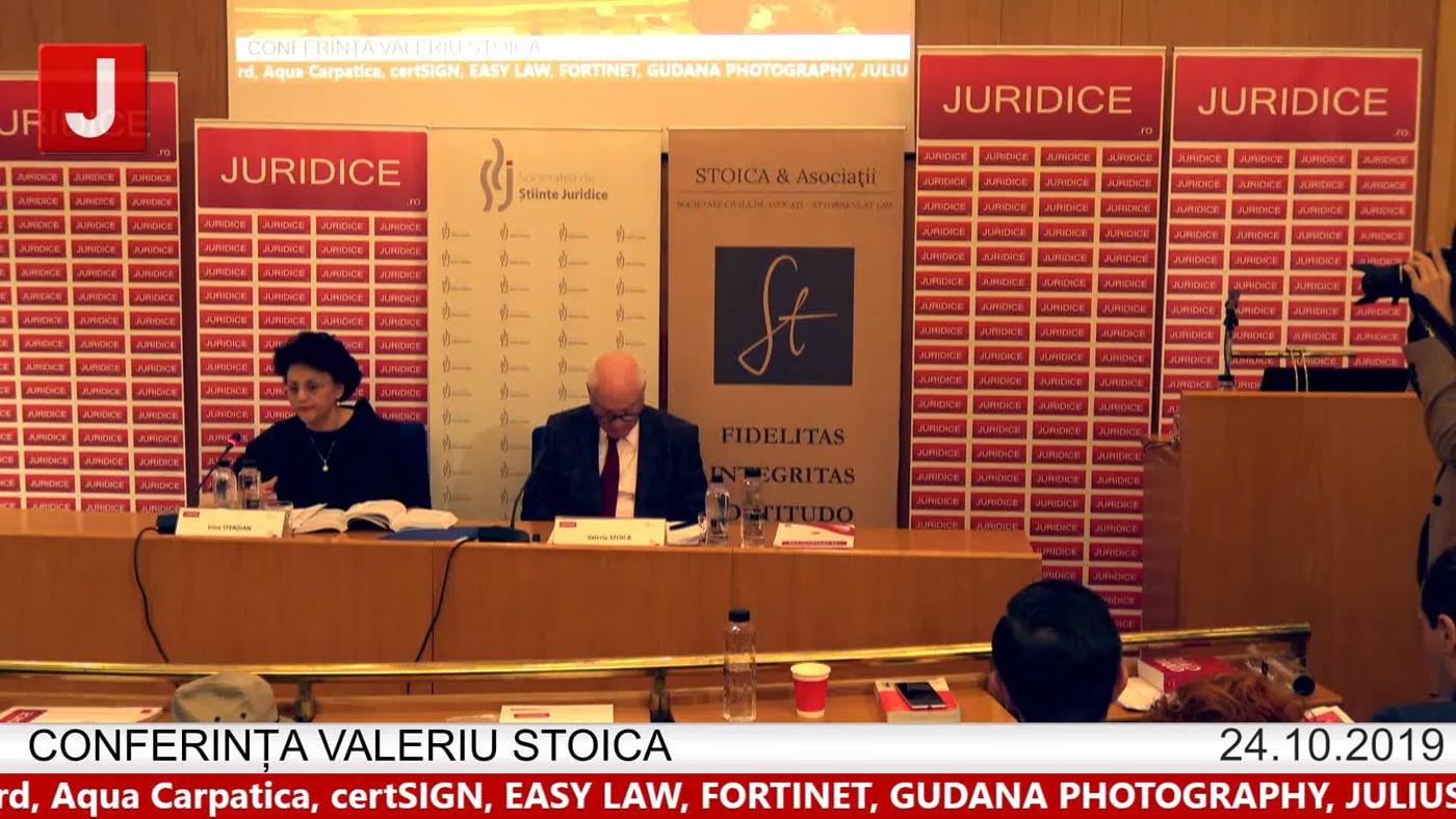 Irina Sferdian – Conferința Valeriu Stoica 2019