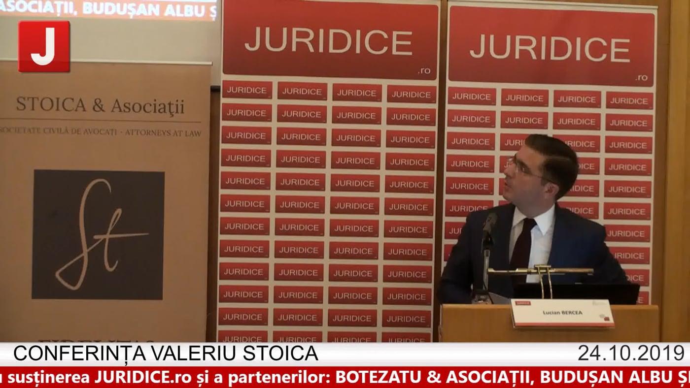 Lucian Bercea – Conferința Valeriu Stoica 2019