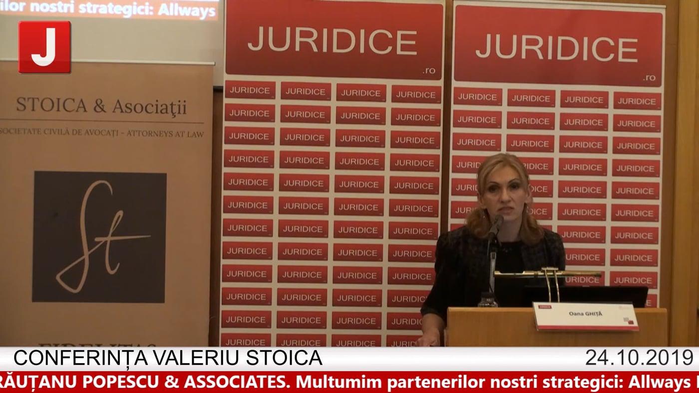 Oana Ghiță – Conferința Valeriu Stoica 2019