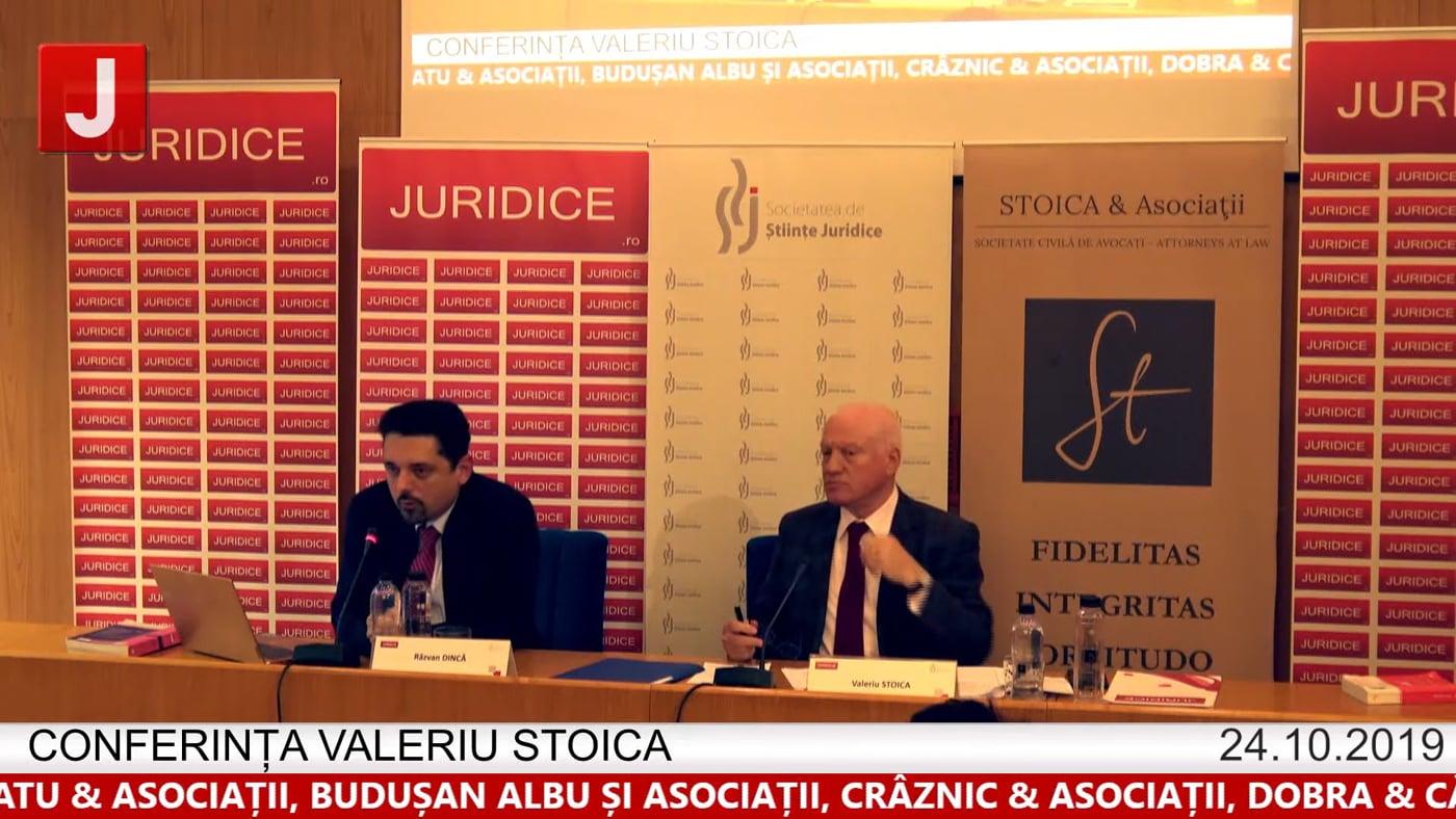 Razvan Dincă  – Conferința Valeriu Stoica 2019
