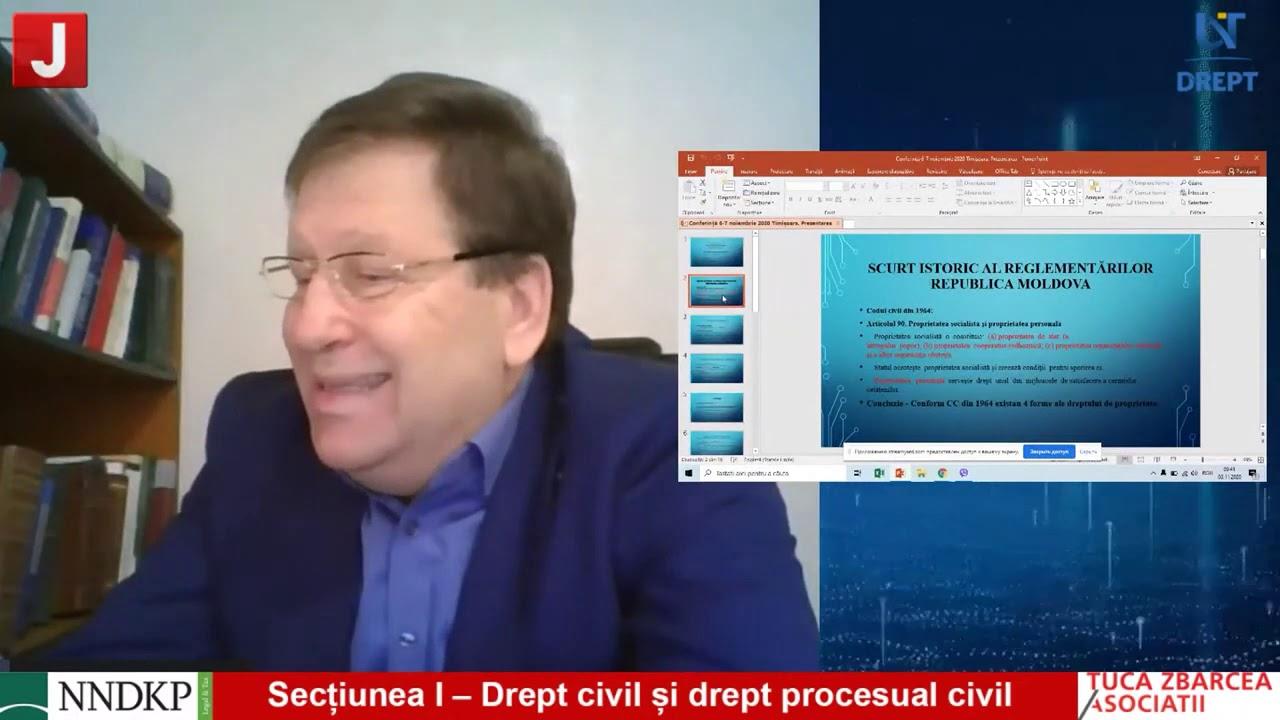 Secțiunea I – Drept civil și drept procesual civil
