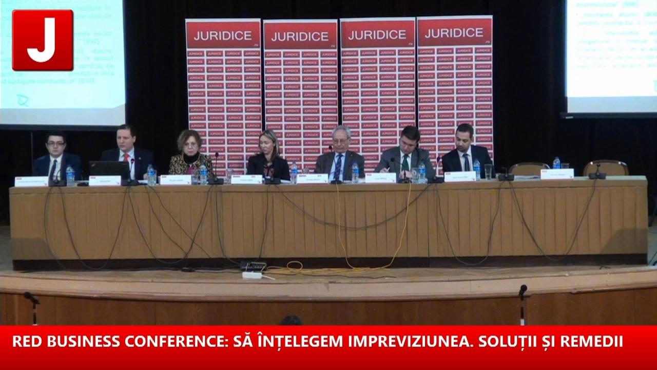 RED BUSINESS CONFERENCE: SĂ ÎNȚELEGEM IMPREVIZIUNEA. SOLUȚII ȘI REMEDII 16.02.2017 (part 1/2)