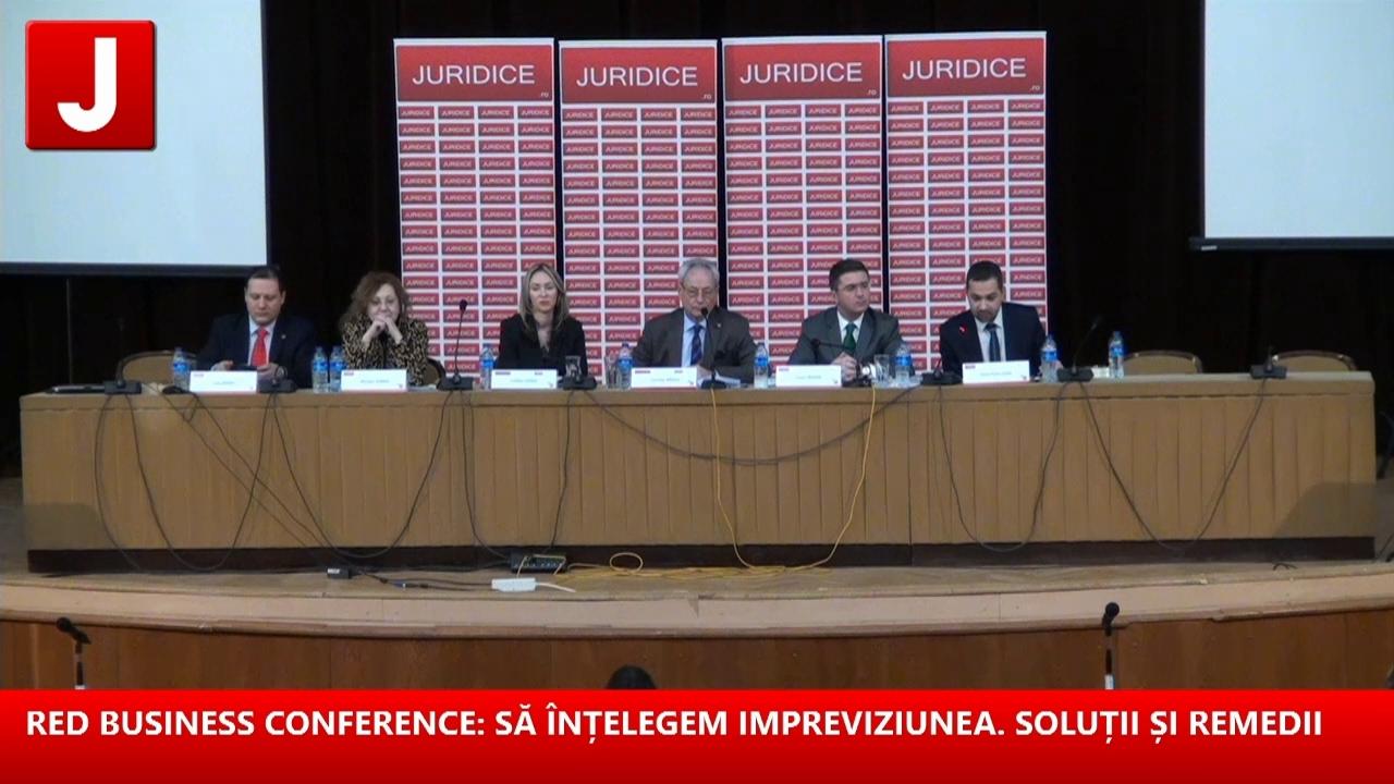 RED BUSINESS CONFERENCE: SĂ ÎNȚELEGEM IMPREVIZIUNEA. SOLUȚII ȘI REMEDII 16.02.2017 (part 2/2)