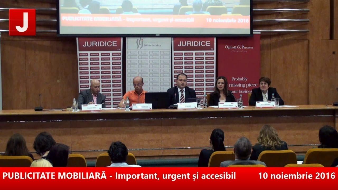 PUBLICITATE MOBILIARĂ – Important, urgent și accesibil 10.11.2016 ( panel 2/2)