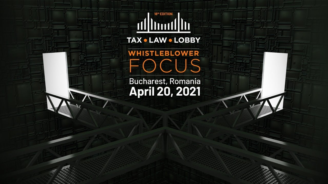 Whistleblowing for Change: BR's Tax, Law & Lobby   Whistleblower Focus 2021