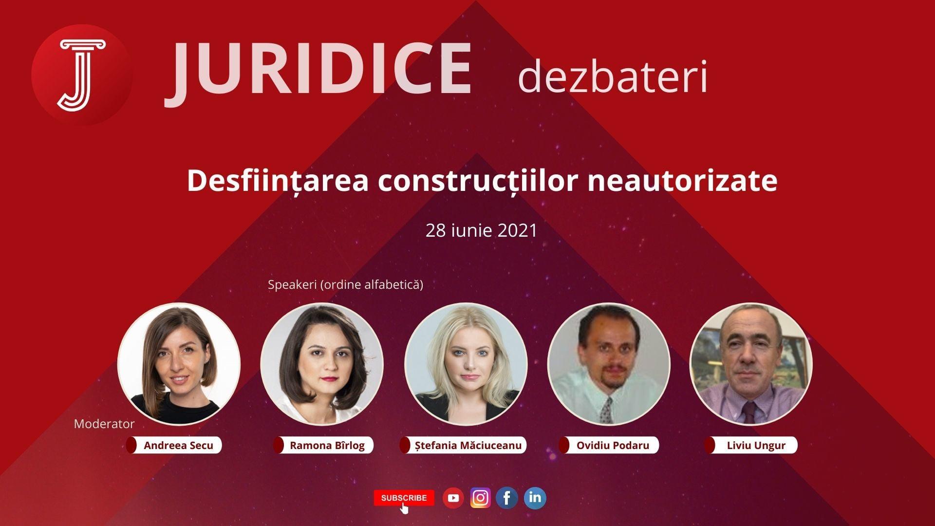 Desființarea construcțiilor neautorizate (ediția 473)