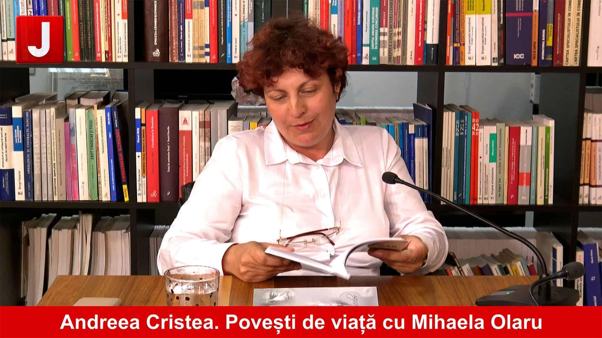 Poezia, prin ochii unui avocat, Andreea Cristea   Povești de viață cu Mihaela Olaru