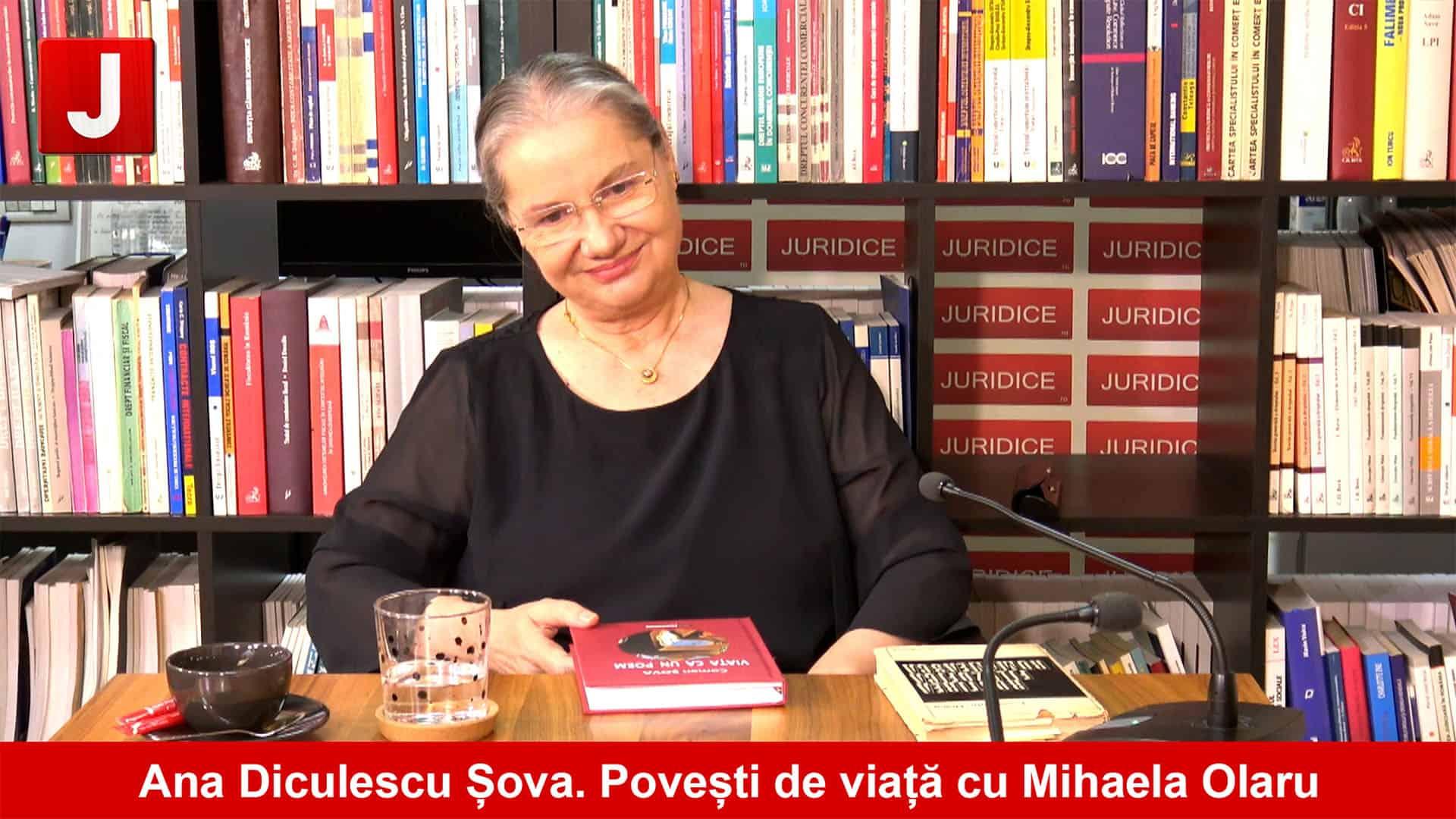 """Portretul unui avocat de excepție, Ana Diculescu-Șova I """"Povești de viață"""" cu Mihaela Olaru"""