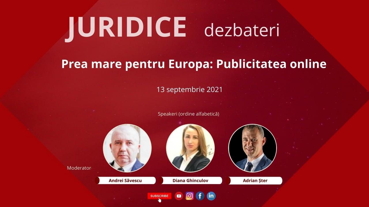 Prea mare pentru Europa: Publicitatea online (ediția 479)