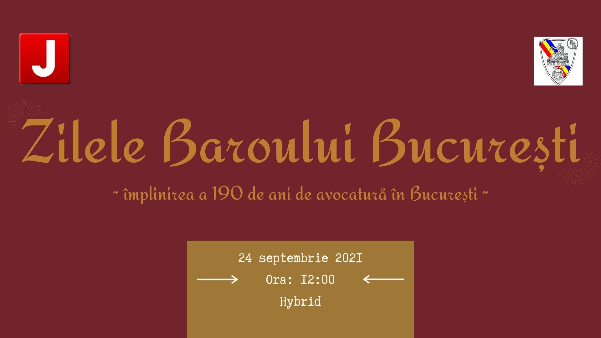 Zilele Baroului București