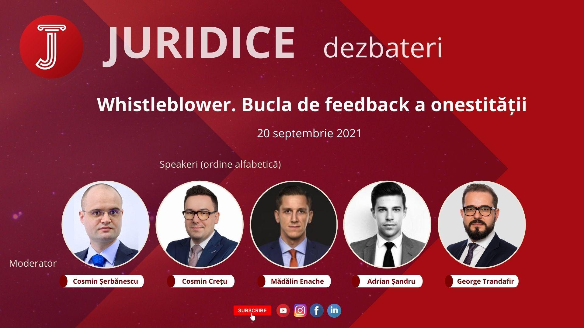Whistleblower Bucla de feedback a onestității (ediția 481)