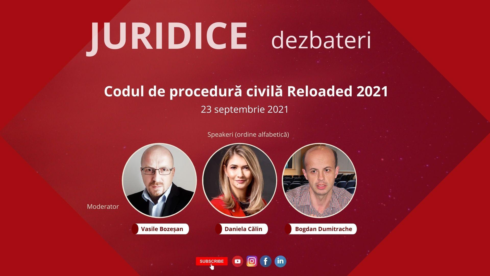 Codul de procedură civilă Reloaded 2021 (ediția 484)